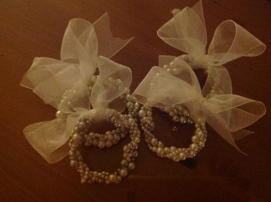 pearl wreaths