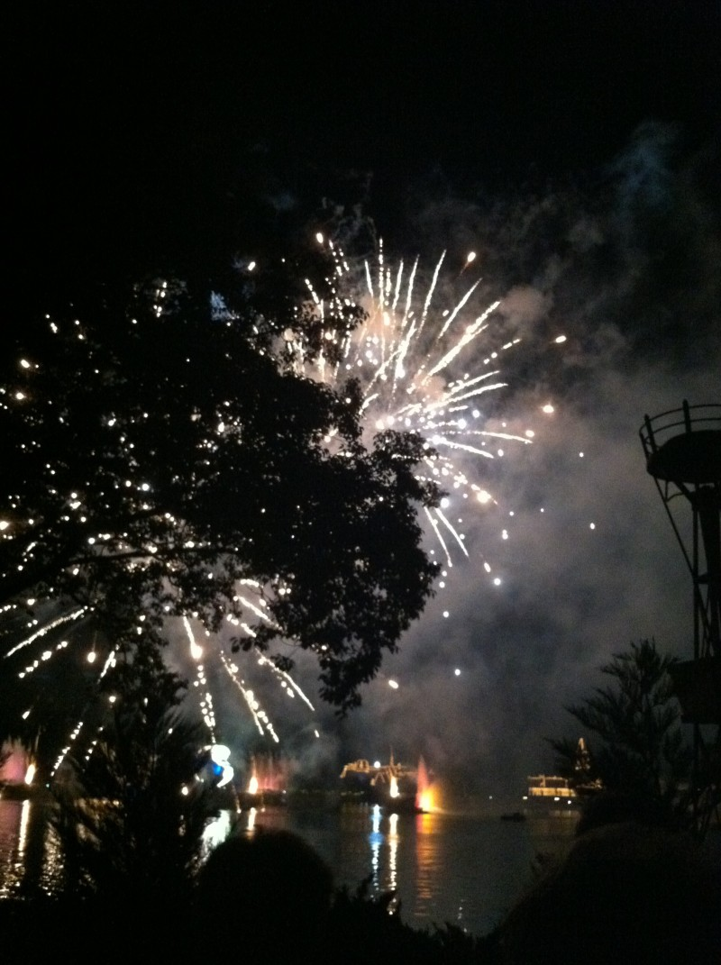 fireworks disney 2