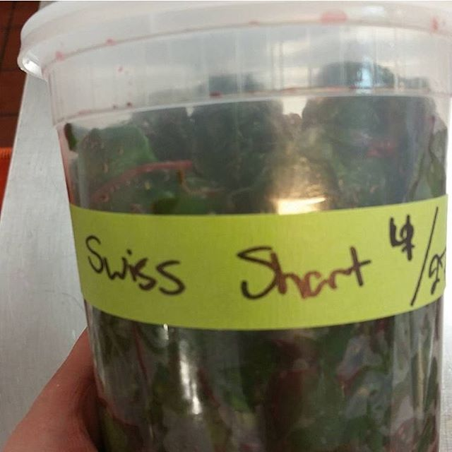 (Swiss chard) A quart of wet shart. Thank you, @overmind78 for the pic!!! #kitchentape #truecooks #cheflife